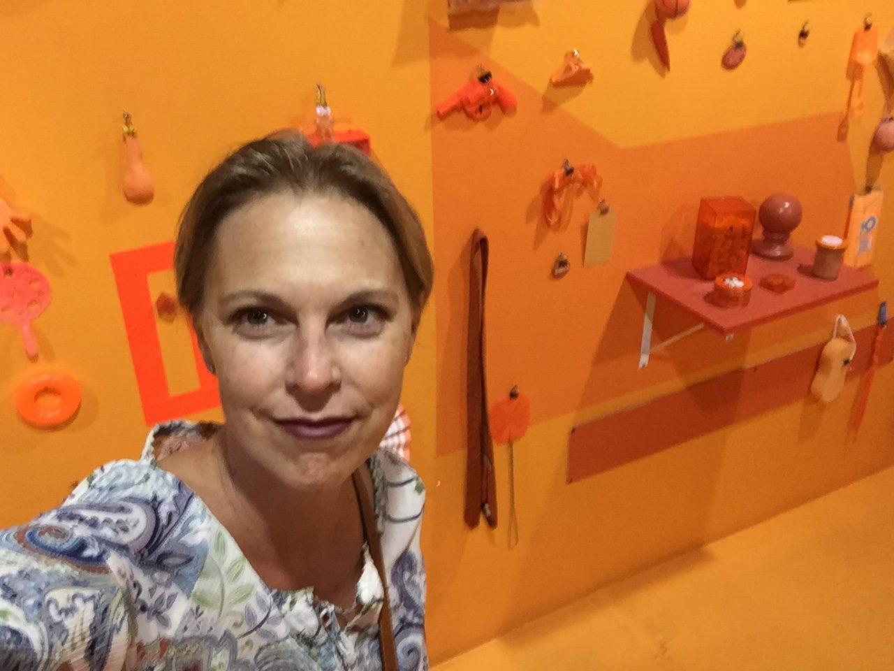 Wendy Wood Design in the Orange Room.