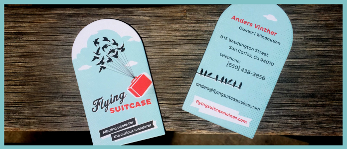 Wine design 7 tips from a winerys business card design reheart Gallery